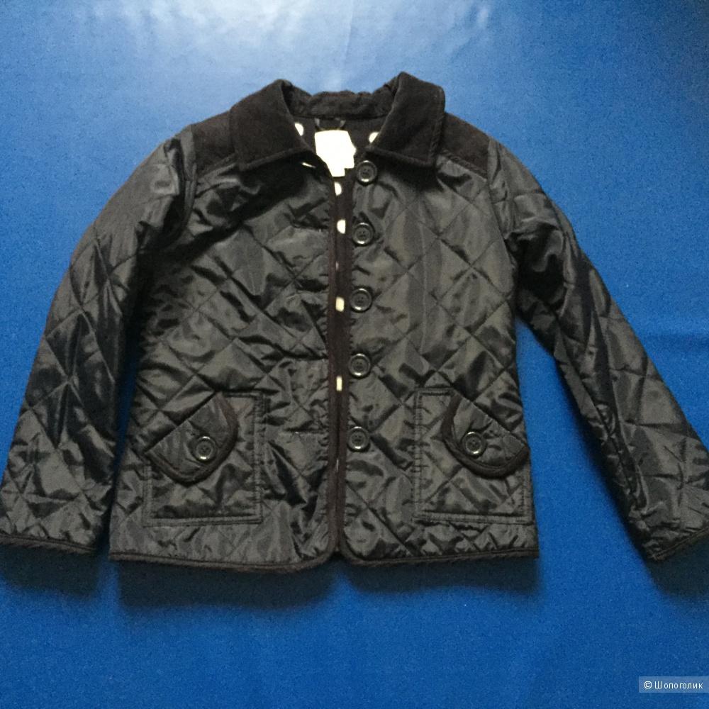 Утепленная курточка-пиджак д/д на 7-8  лет ф. Чилдренс