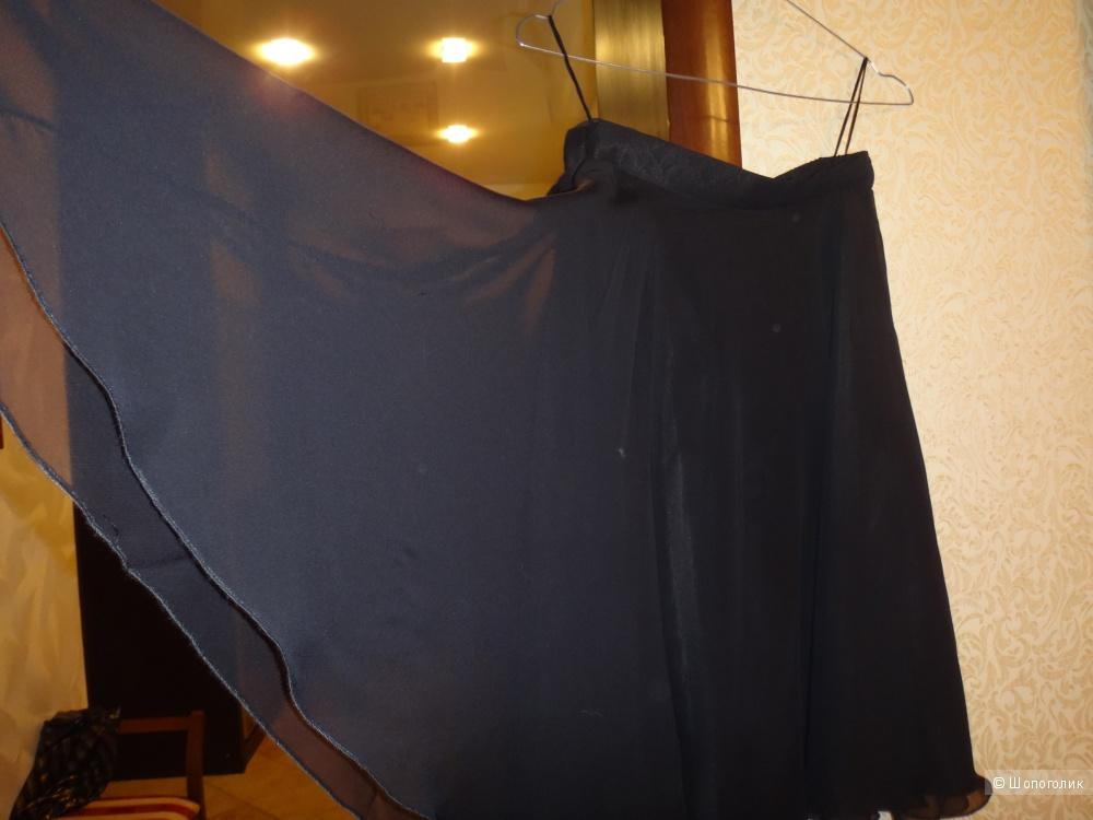 Юбка шелковая 44-46 размер