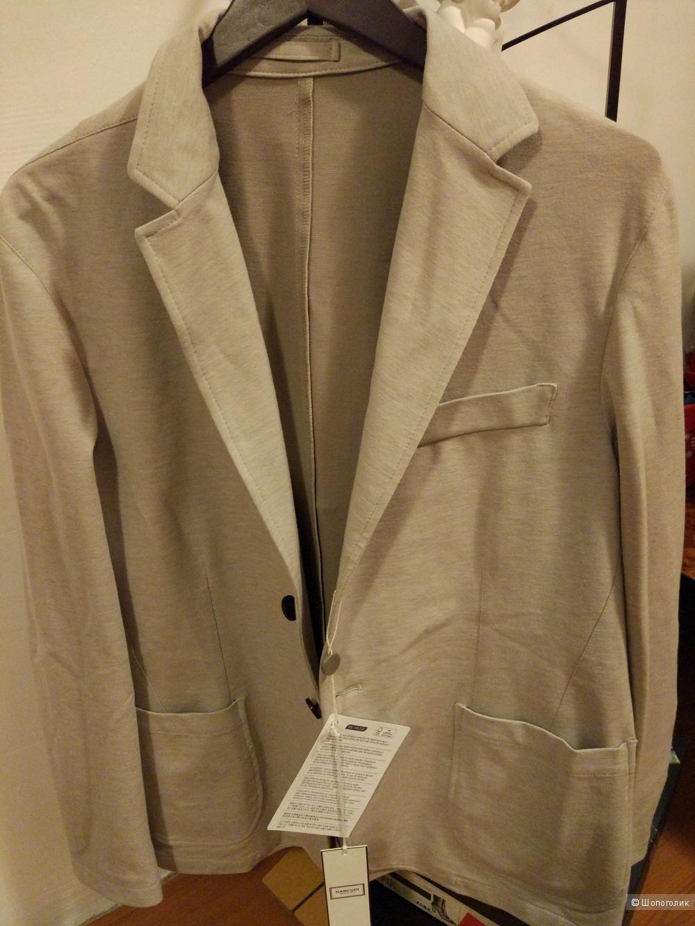 Мужской трикотажный пиджак 54р