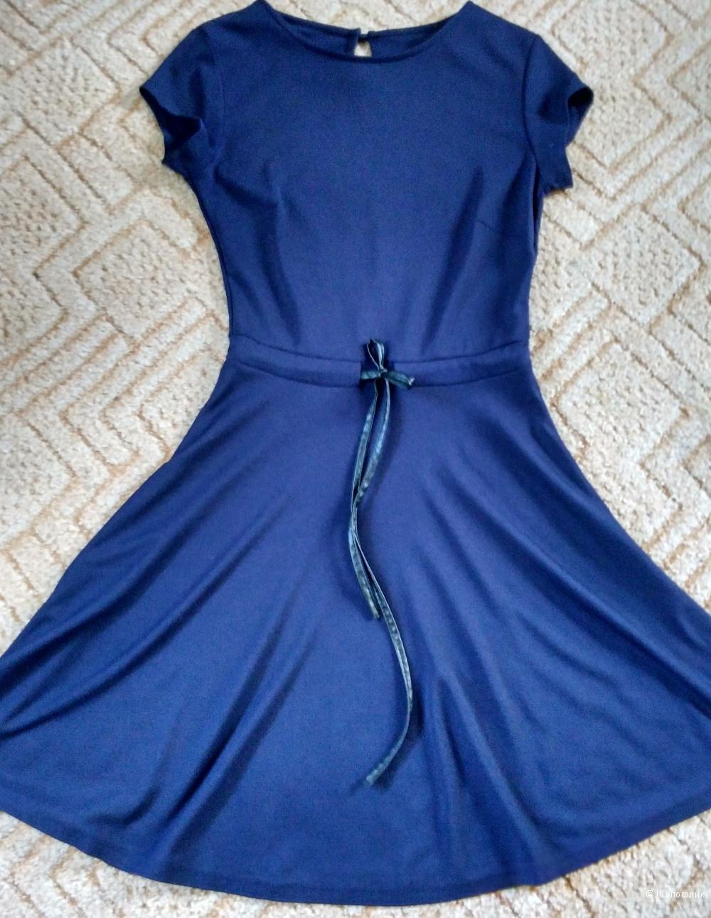 Платье синее ADL размер 44-46