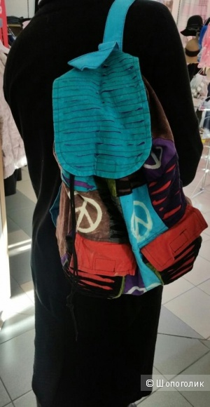 Летний хлопковый рюкзак
