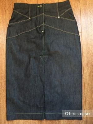 Летняя юбка под джинсу, р. 42, M-reason