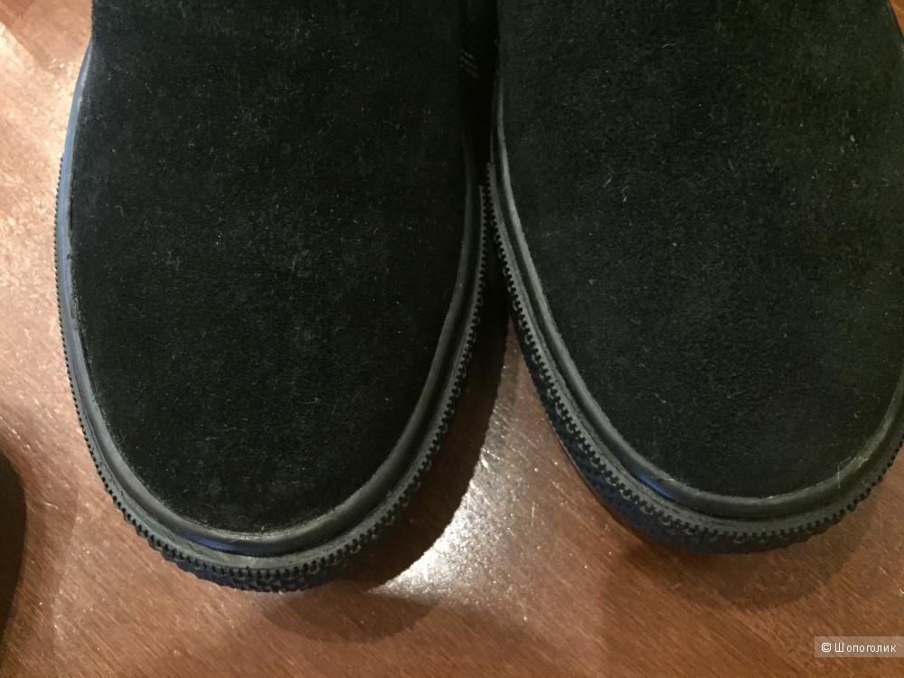 Новые слипоны из натуральной кожи 36 размер