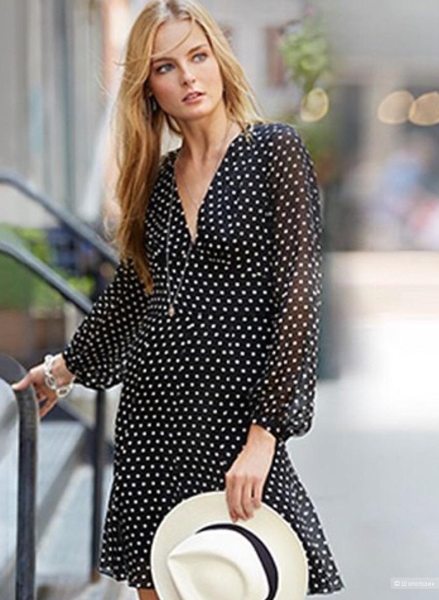 Платье шелковое Ralph Lauren с yoox