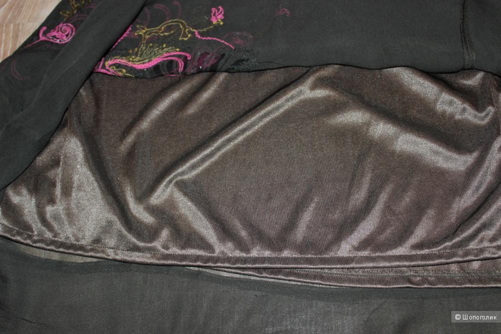 Шелковая юбка DIESEL, размер 44-46