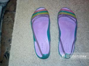 Crocs балетки 36 размер маркировка 6