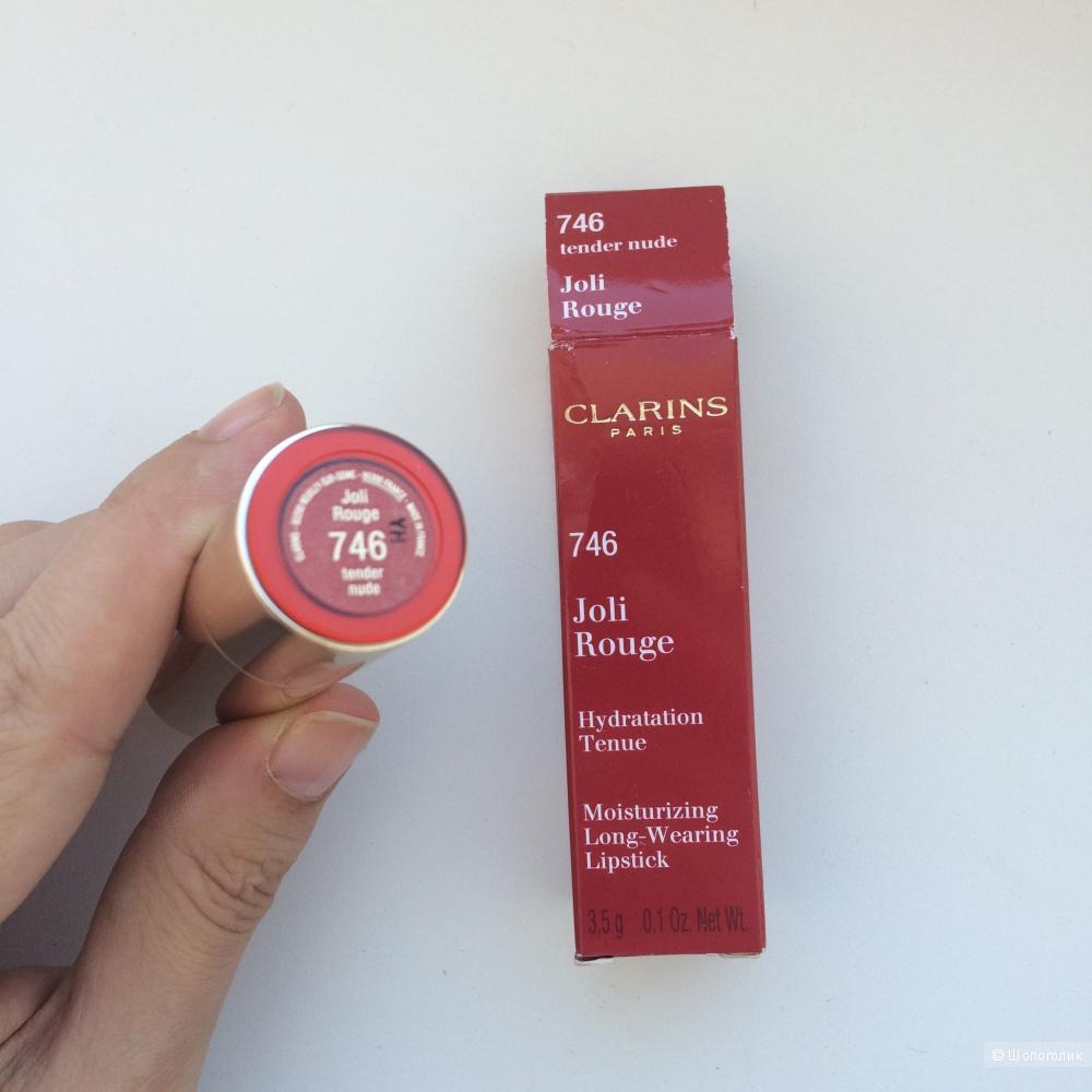 Помада Clarins Joli Rouge 746 tender nude