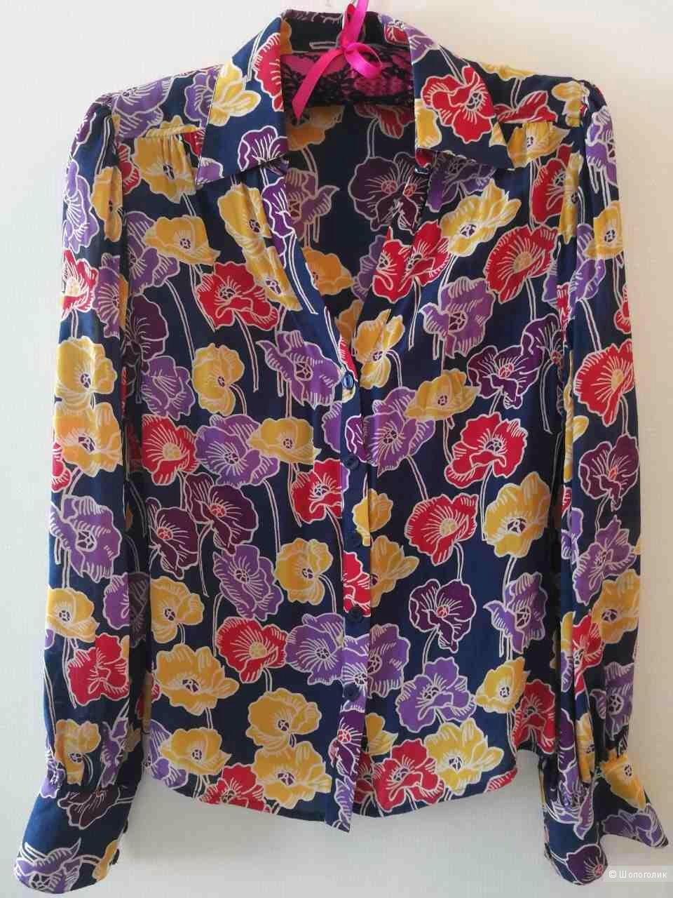 Шелковая блузка South размер 6 англ. на наш 40-42