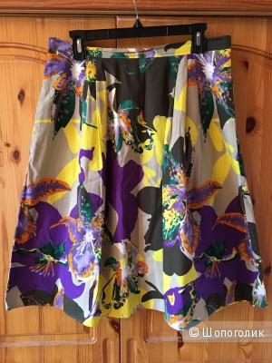 Летняя юбка MaxMara Studio, размер IT46 (на росс.46-48)