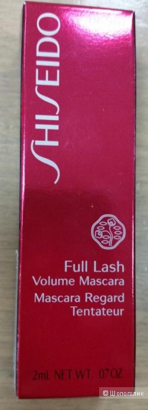 Тушь  Shisheido  Full Lash  2 ml / черный