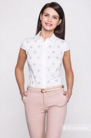 Базовая блуза стиле casual бренда Bestia. размер XL