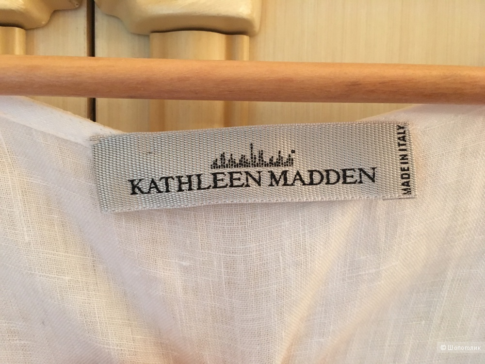 Kathleen Madden Платье летнее белоснежное 54-56