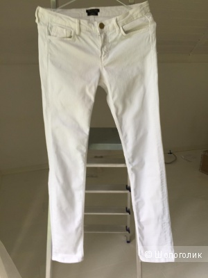 Джинсы белые Massimo Dutti, размер 40-42 (UER 34, USA 2)