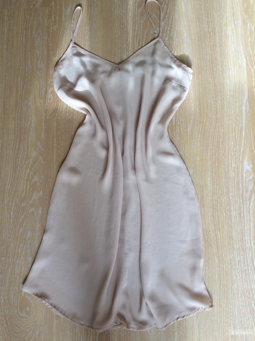 Шёлковое платье Massimo Dutti, р-р 42-44
