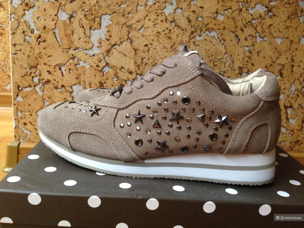 Замшевые кроссовки Liu-Jo Shoes р. 38