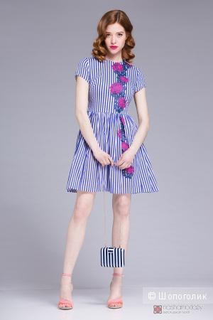 Летнее платье Favorini размер 46 (хорошо будет на 44-46) 100% хлопок