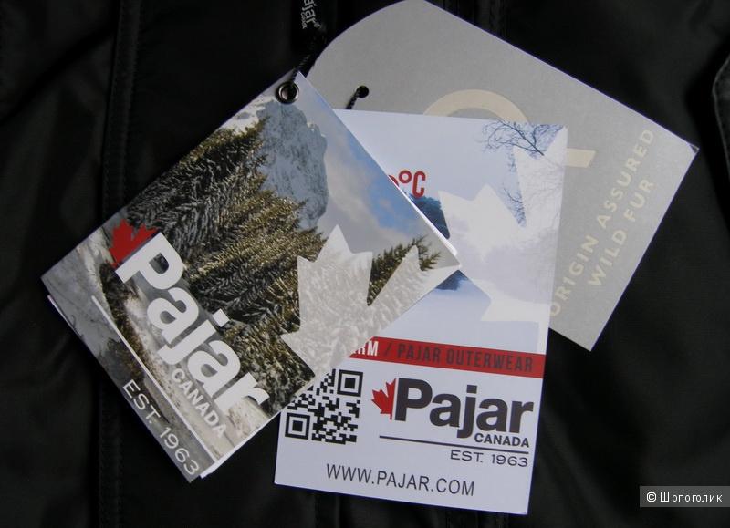 Мужской пуховик Pajar Eagle Down Parka, размер S