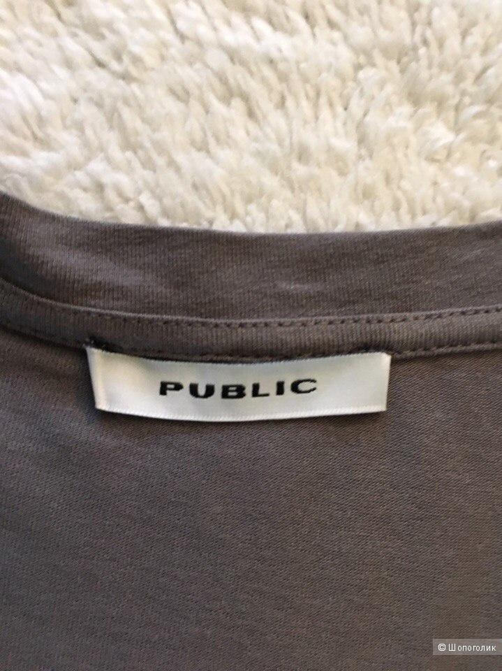 Футболка-блуза женская немецкого бренда PUBLIC р.48