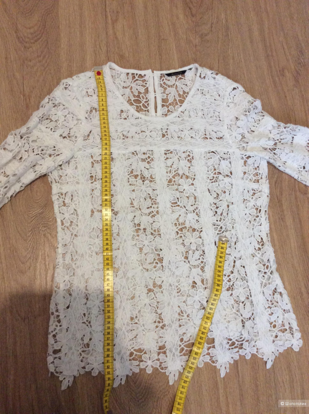Кружевная блуза Massimo Dutti 46-48 размер