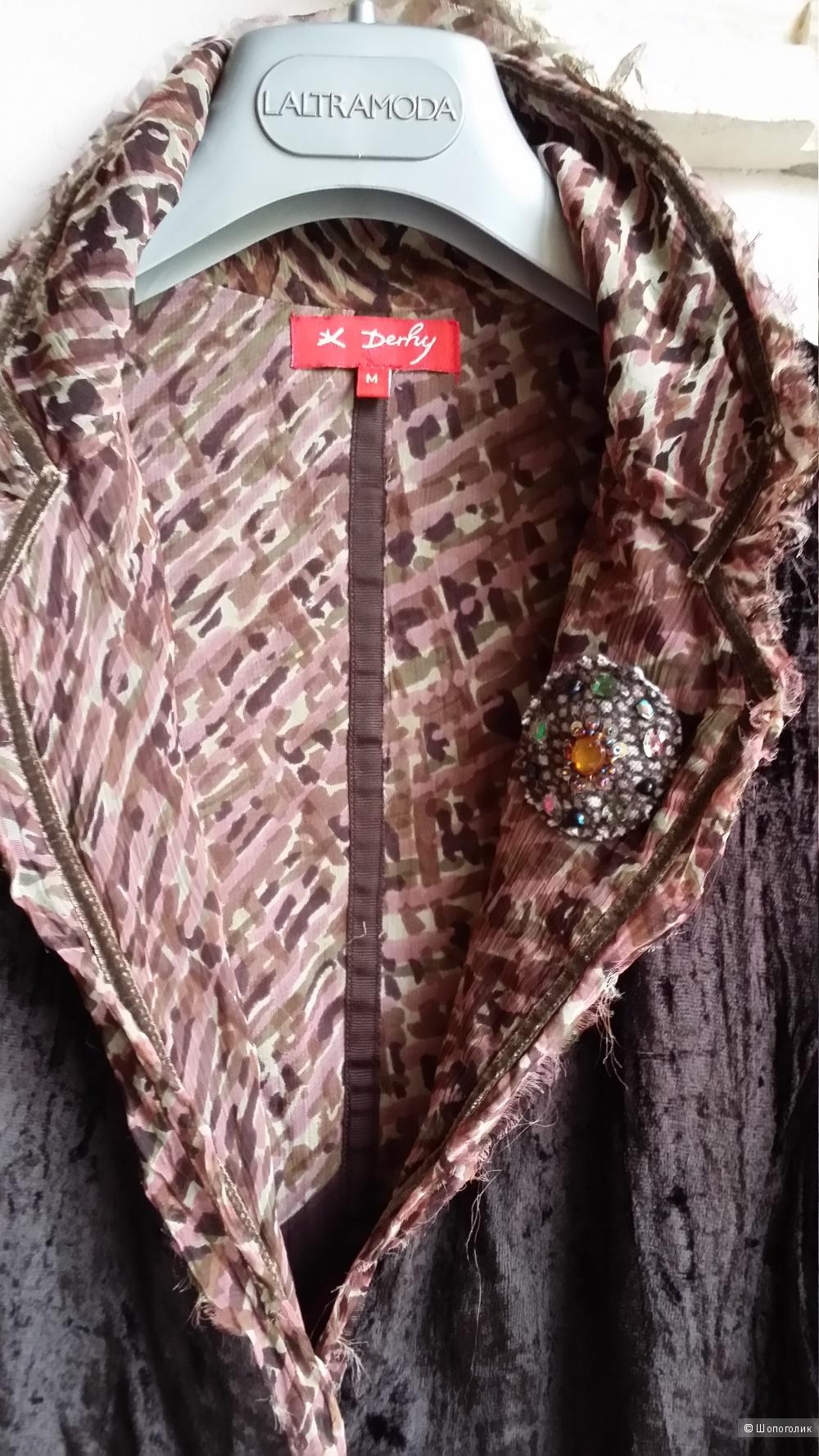 Rene Derhy (Испания) пиджак бархатный, М