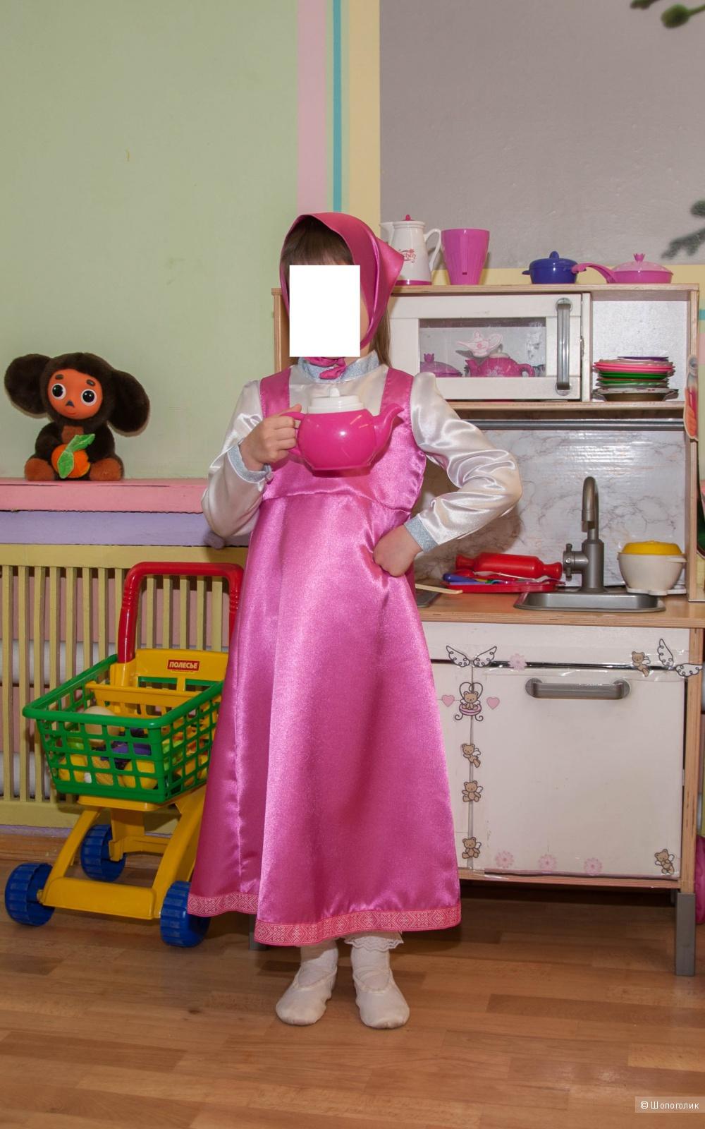 """Карнавальный костюм """"Маша"""", 28 размер, 110 рост, фирма """"Батик"""""""