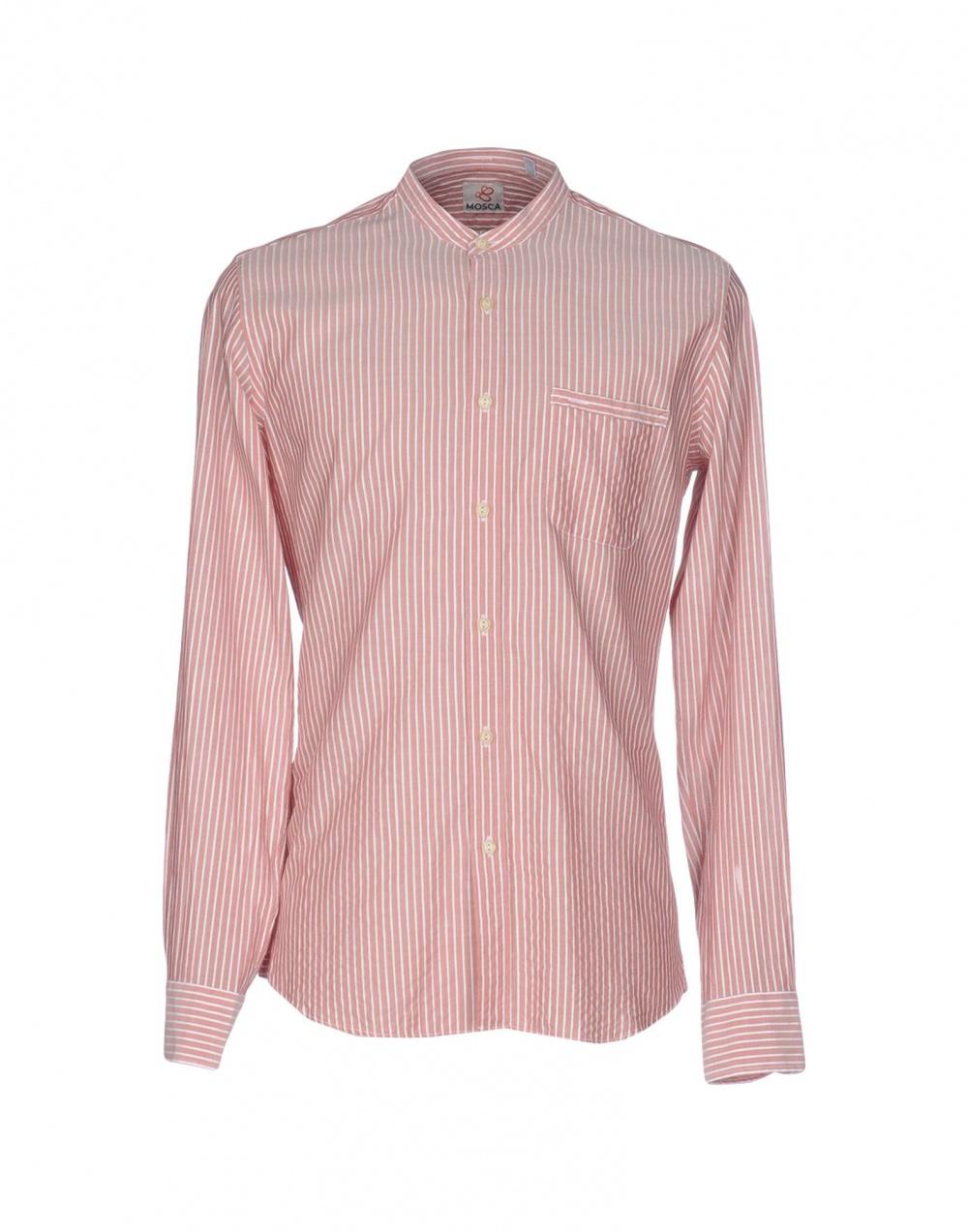 Рубашка в полоску MOSCA, размер М