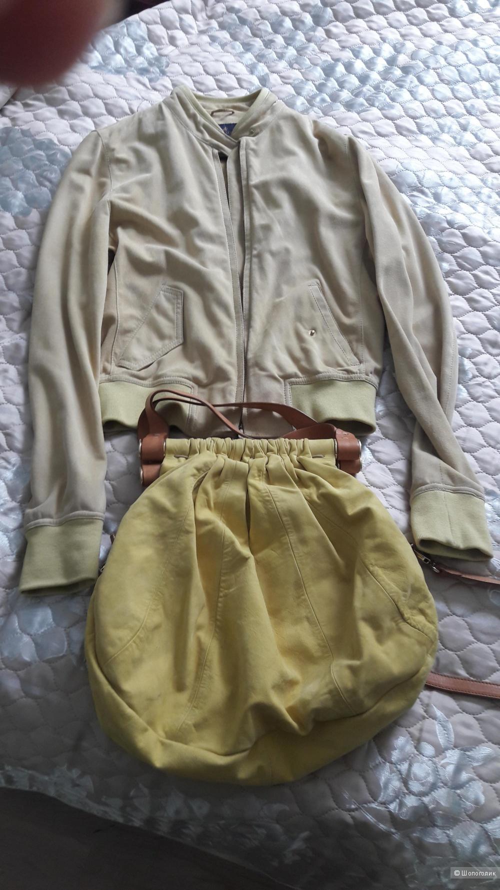 Замшевая куртка Brookfield 46 размера итальянского