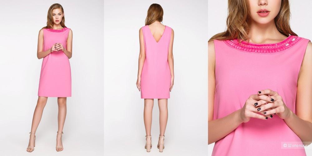 Платье розовое Bestia размер S, можно S-M