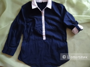 """Блуза хлопковая """"Zolla"""", размер 42-44, б/у"""