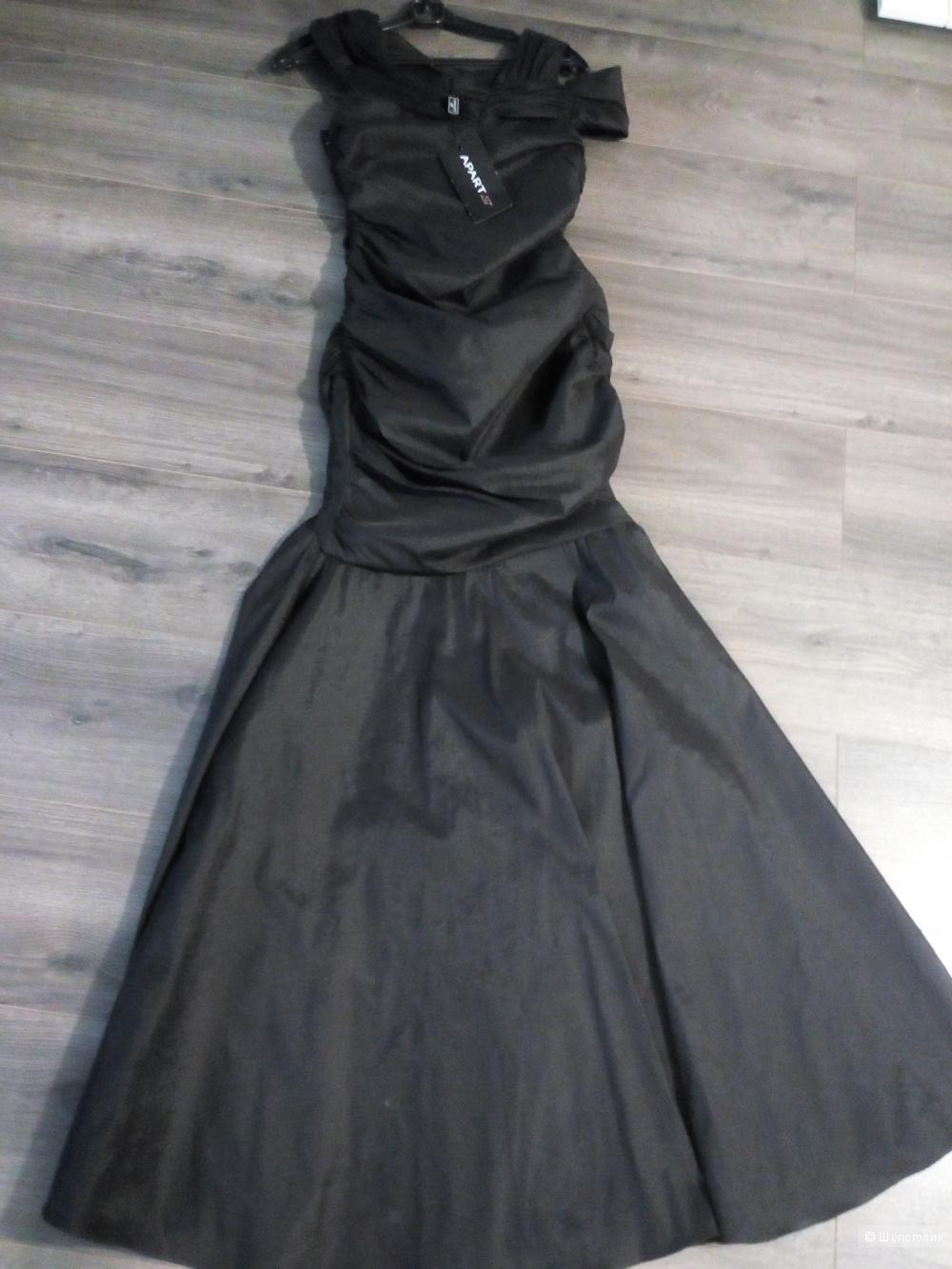 Платье Apart. Цвет: черный. Сезон: Осень-зима 2016/2017.