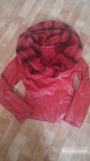 Кожаная куртка Ciolla 42-44