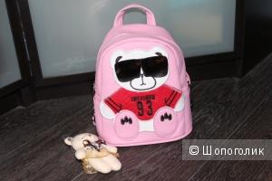 Рюкзак розовый  для девочки
