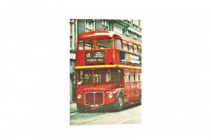 "Обложка на паспорт ""London"" Eshemoda 100% кожа"