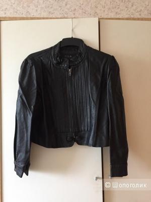 Куртка из искусственной кожи датского бренда Vila размер L на М-L.