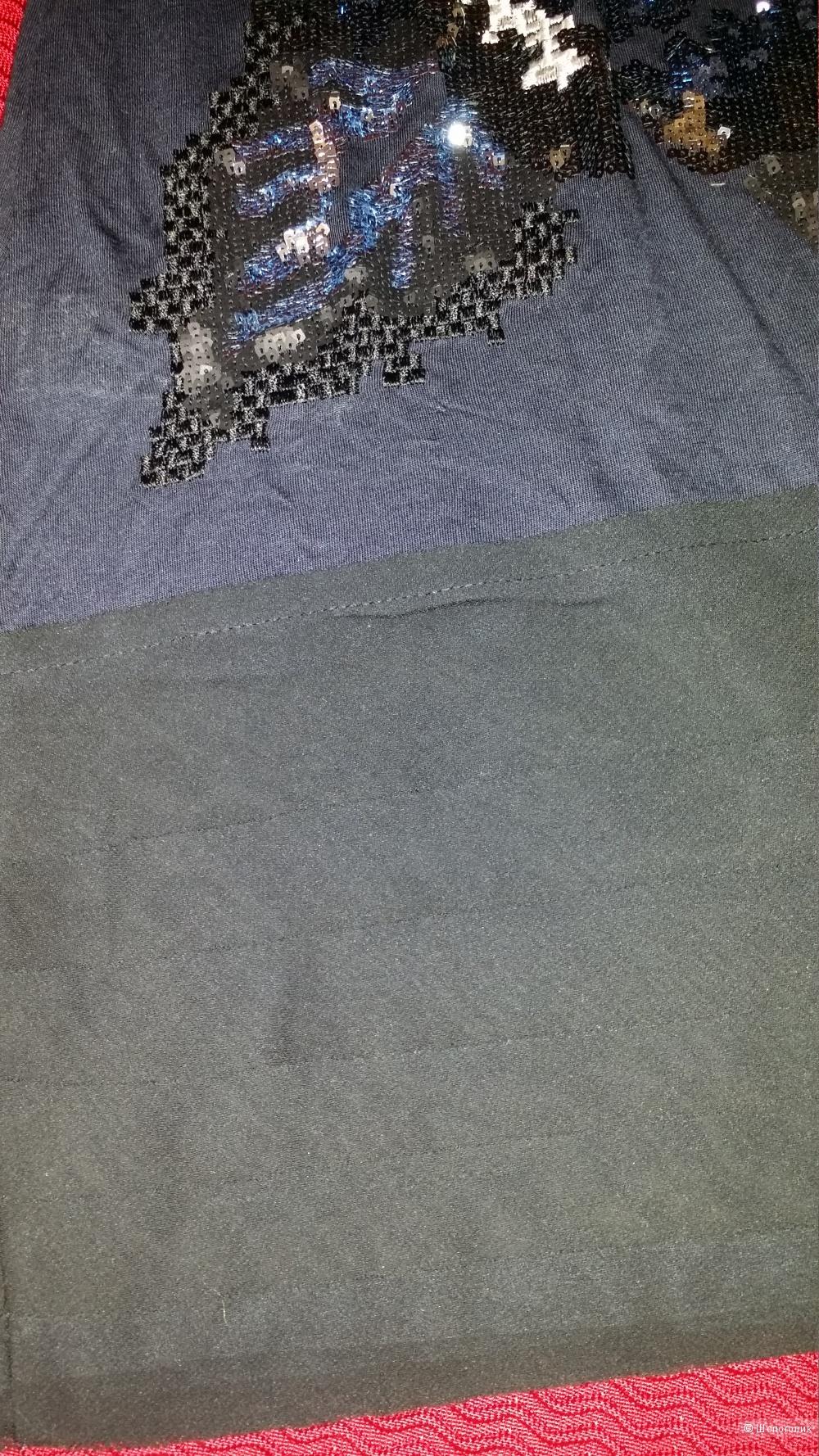 Mango платье с вышивкой , М