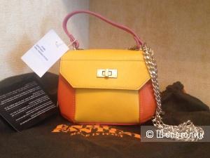 Новая сумочка Enrico Fantini кожа