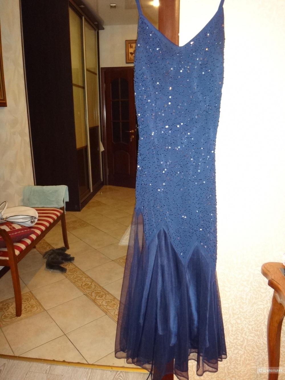 Платье длинное 46-48 размер Индия