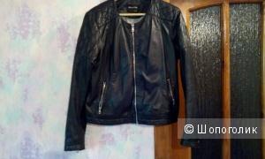 Massimo Dutti куртка науральная кожа маркировка XL маломерит на M