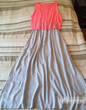 Летнее платье из вискозы 44-46