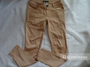 """Хлопковые брюки цвета лосося """"INCITY"""", размер 40-42, б/у"""