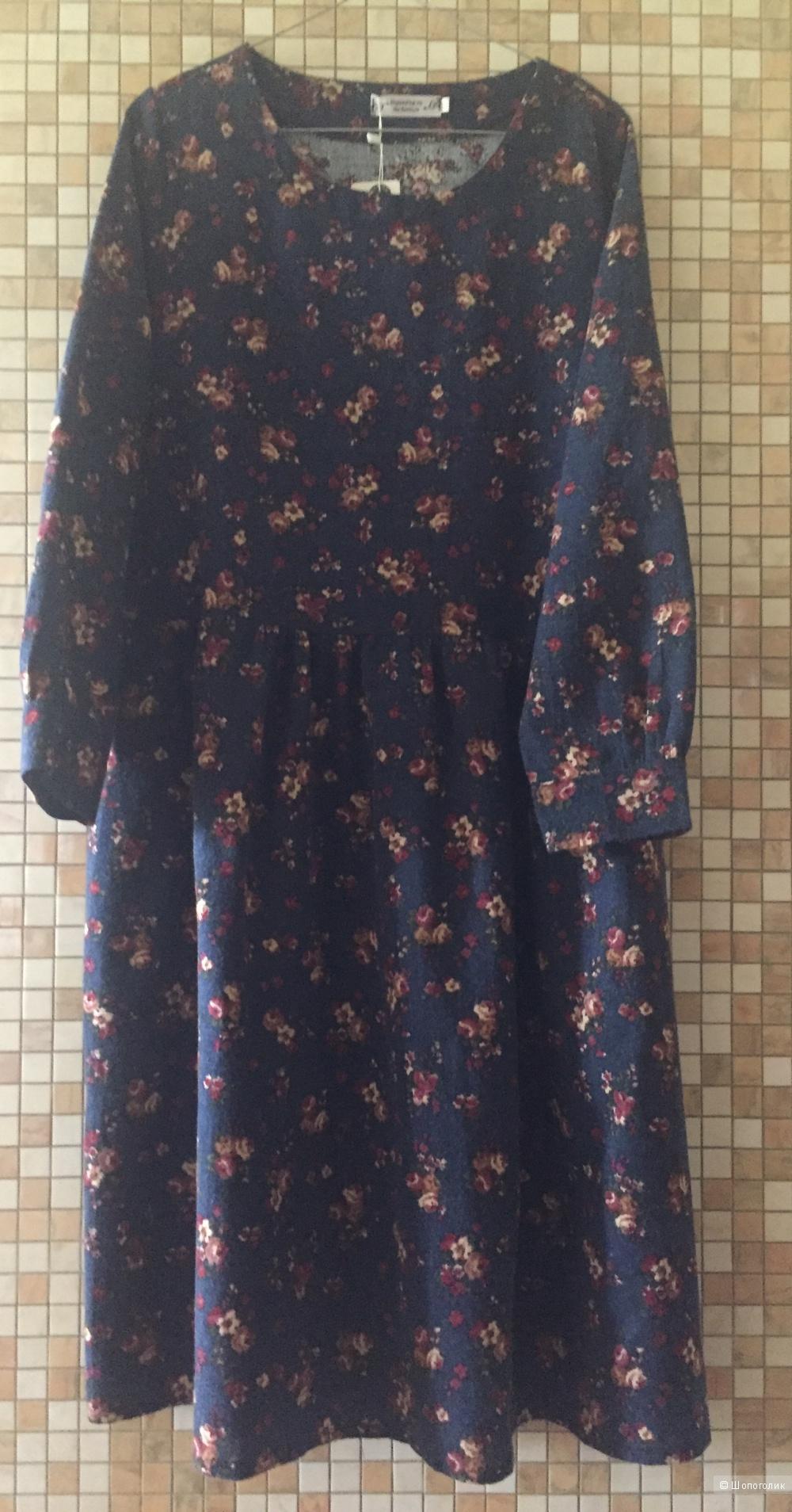 Платье в стиле ретро,SEXEMARA, размер 44-46