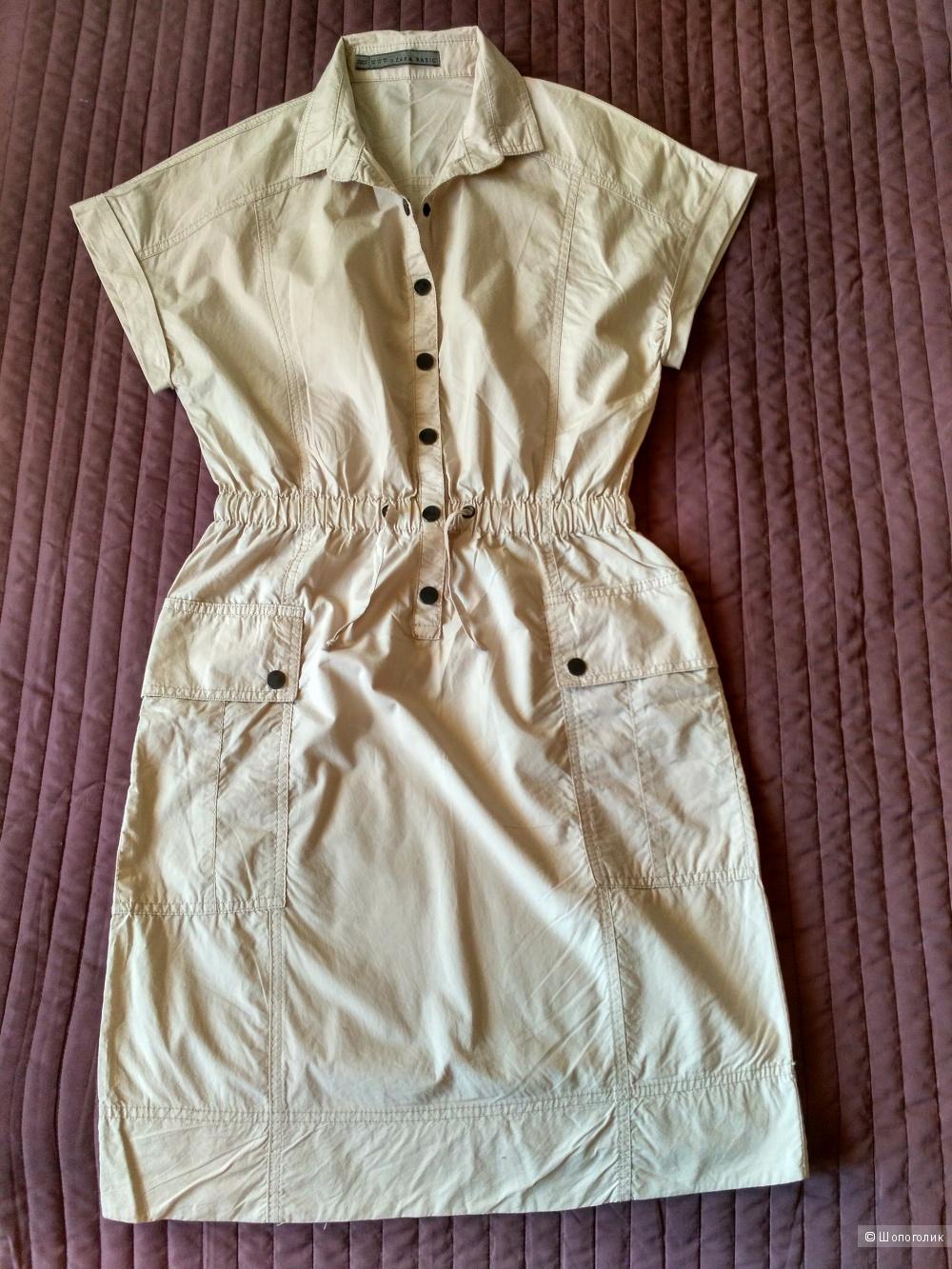 Х/б платье Zara, XS