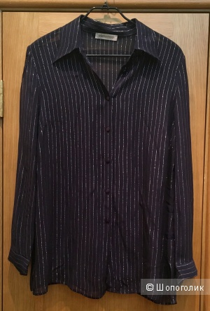 Elena Miro блузка рубашка 54-56 шёлк