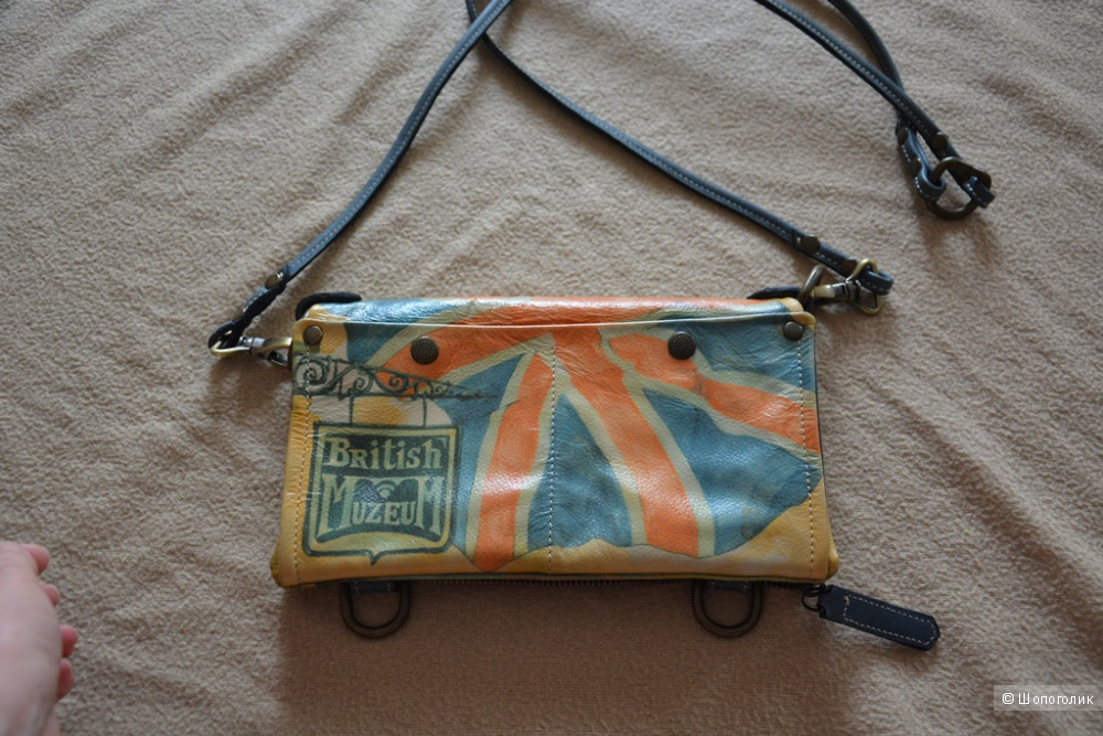 Дизайнерская сумка кроссбоди  ручной работы ANTE KOVAC натуральная кожа