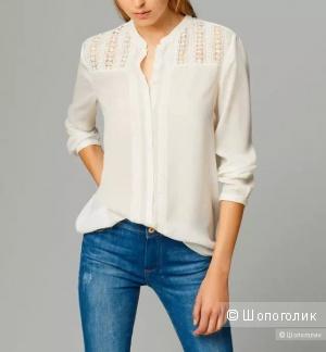 Шелкая рубашка блузка Massimo Dutti, 42 EU