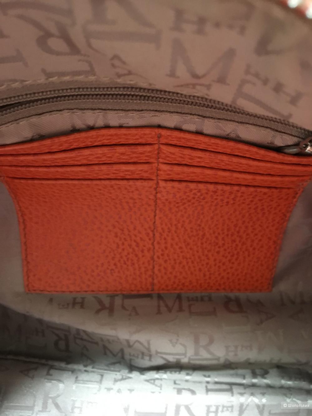 Оранжевая сумка Lamarthe