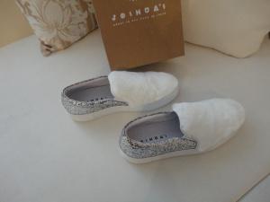 Белые слипоны  Joshua sanders 40 размер (новые)