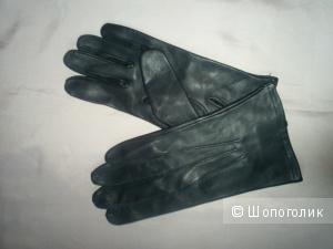 Перчатки кожаные мужские р 9.