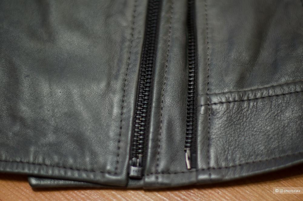 Кожаная куртка Barney's, размер 10 uk