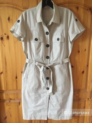 Светлое платье-сафари GERARD DAREL размер FR 40 (на росс.46)